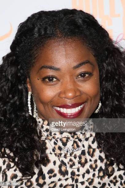 Donielle Artese arrives at the Lupus LA 15th Annual Hollywood Bag Ladies Luncheon at The Beverly Hilton Hotel on November 17 2017 in Beverly Hills...