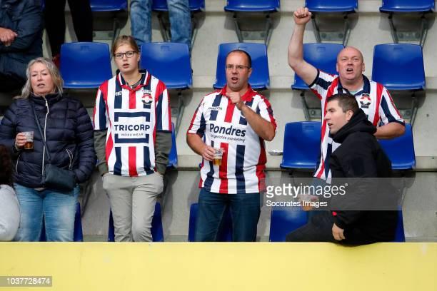 Donis Avdijaj of Willem II during the Dutch Eredivisie match between Fortuna Sittard v Willem II at the Fortuna Sittard Stadium on September 22 2018...