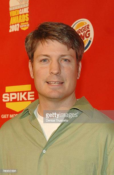 Donkey Kong champion Steve Wiebe arrives at Spike TV's 2007 Video Game Awards at the Mandalay Bay Events Center on December 7 2007 in Las Vegas Nevada