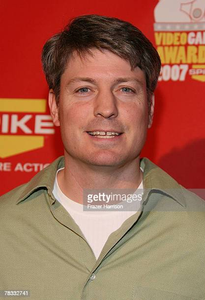 Donkey Kong Champion Steve Wiebe arrives at Spike TV's 2007 'Video Game Awards' at the Mandalay Bay Events Center on December 7 2007 in Las Vegas...