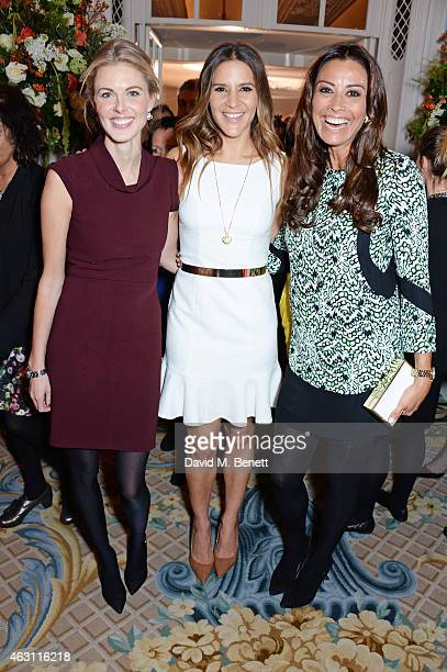 Donna Air Amanda Byram and Melanie Sykes attend a gastronomic Mexican lunch prepared by 6 of the country's finest chefs to celebrate the Year of...