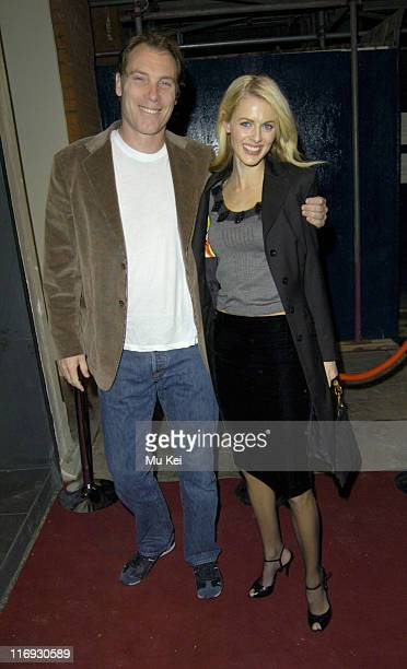 Donna Air and Damien Aspinall during Living Room - Launch Party at Living Room in London, Great Britain.