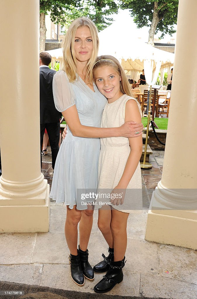 Donna Air (L) and daughter Freya Aspinall attend the Dogs Trust Honours held at Home House on July 23, 2013 in London, England.