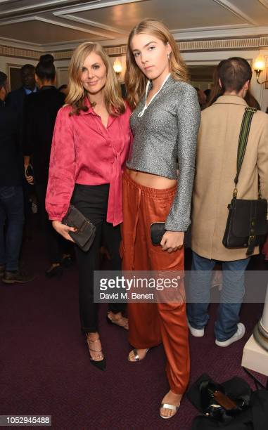 Donna Air and Freya Air attend the English National Opera production of 'Porgy Bess' at London Coliseum on October 24 2018 in London England