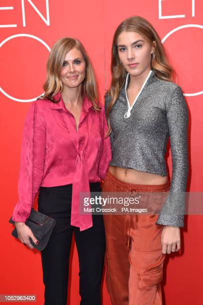 Donna Air and Freya Air attending the VIP performance of Porgy and Bess at the Coliseum theatre in London