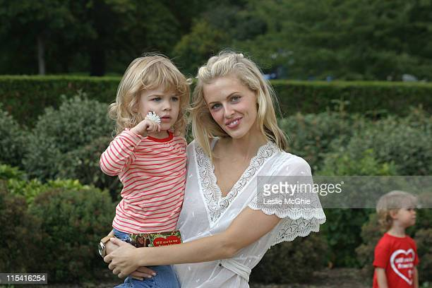 Donna Air and Freya Aspinall during Will You Be My Primate Day at Hyde Park Sports Centre in London Great Britain