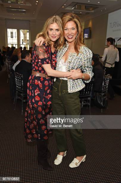 Donna Air and Heather Kerzner attend Turn The Tables 2018 hosted by Tania Bryer and James Landale in aid of Cancer Research UK at BAFTA on March 5...
