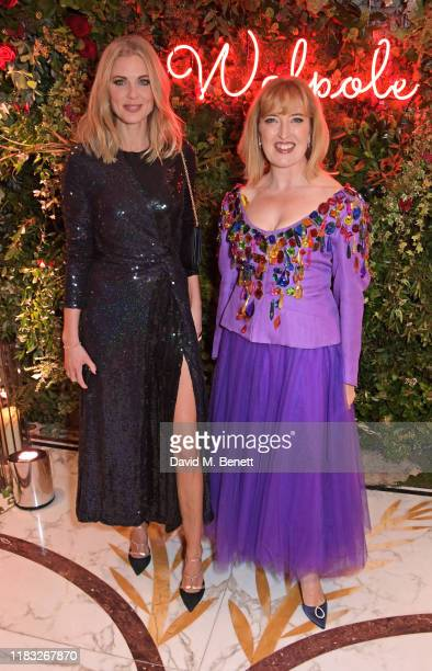 Donna Air and Helen Brocklebank attend the Walpole British Luxury Awards 2019 at The Dorchester on November 18 2019 in London England