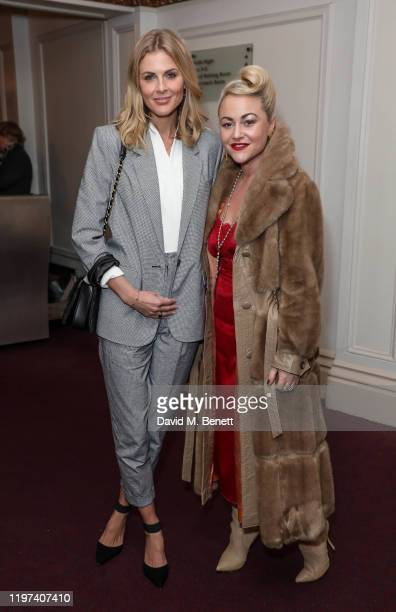 Donna Air and Jaime Winstone attend the press night performance of the English National Opera's Carmen at The London Coliseum on January 29 2020 in...