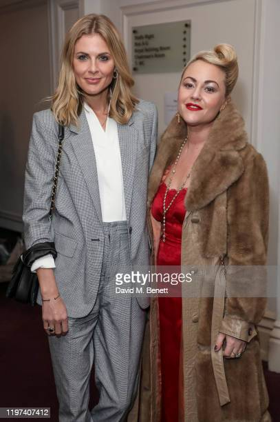 Donna Air and Jaime Winstone attends the press night performance of the English National Opera's Carmen at The London Coliseum on January 29 2020 in...