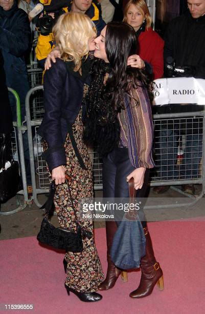 Donna Air and Melanie C during 'I'm Going to Tell You a Secret' UK TV Premiere at Chelsea Cinema 206 Kings Road in London Great Britain