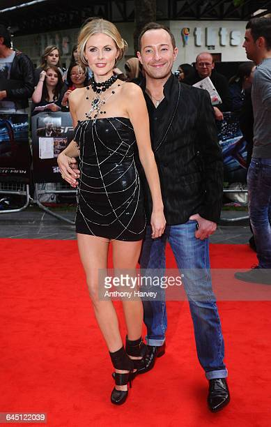 Donna Air and Scott Henshall attend The Amazing Spiderman Premiere on June 18 2012 at the Odeon Cinema in London