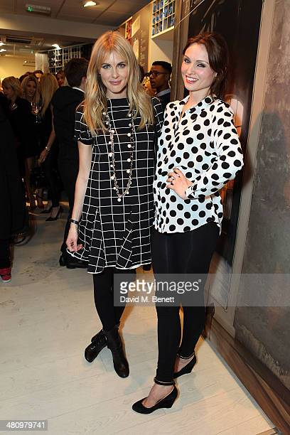 Donna Air and Sophie Ellis Bextor attend the opening of the new Freddy store on King's Road on March 27 2014 in London England