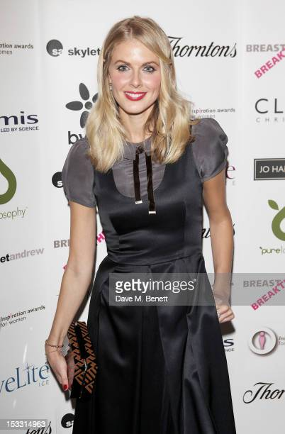 Donna Air arrives at The Inspiration Awards For Women 2012 at Cadogan Hall on October 3 2012 in London England