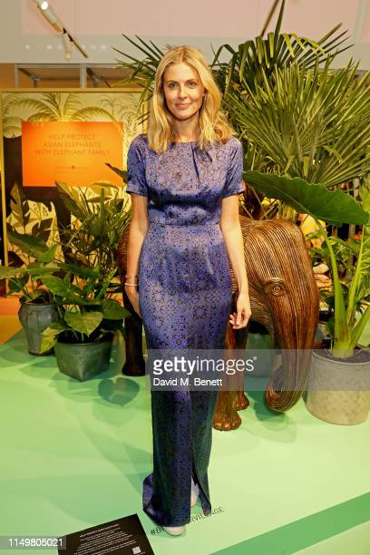 Donna Air attends a colourful celebration of All Things India at Bicester Village on May 17, 2019 in Bicester, England.
