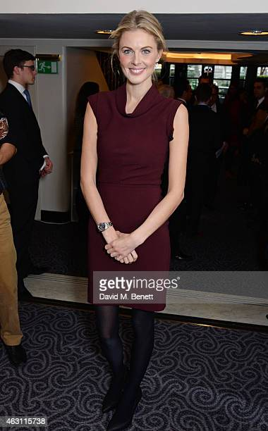 Donna Air attends a gastronomic Mexican lunch prepared by 6 of the country's finest chefs to celebrate the Year of Mexico in the UK hosted by the...