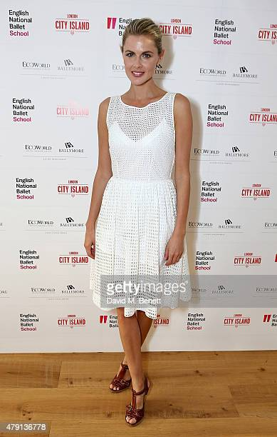 Donna Air attends as Eco World Ballymore welcomes English National Ballet to its new home on London City Island on July 1 2015 in London United...