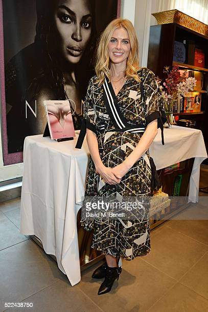 """Donna Air attends as Naomi Campbell launches her new book """"Naomi"""" at the Taschen Store on April 19, 2016 in London, England."""