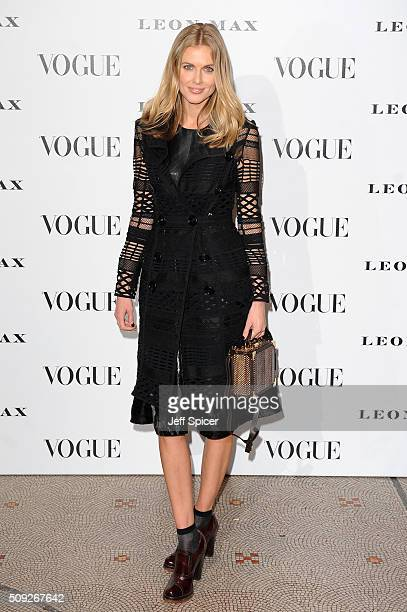 Donna Air attends at Vogue 100 A Century Of Style at the National Portrait Gallery on February 9 2016 in London England