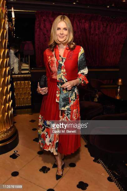 Donna Air attends Celebrating China Pop-Up at Bicester Village by Susie Bubble at Park Chinois on January 28, 2019 in London, England.