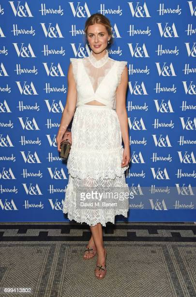 Donna Air attends the 2017 annual VA Summer Party in partnership with Harrods at the Victoria and Albert Museum on June 21 2017 in London England
