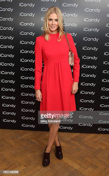 Donna Air attends the 80th anniversary party of iCandy at One Marylebone on September 10, 2013 in London, England.