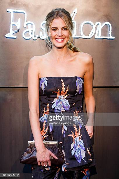 Donna Air attends the Amazon Fashion Photography Studio launch party on July 23 2015 in London England