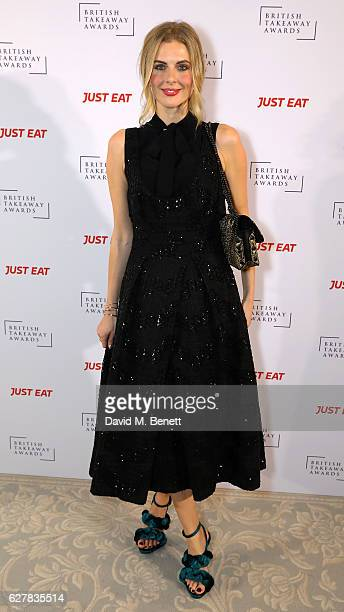 Donna Air attends the annual British Takeaway Awards in association with Just Eat at the Savoy Hotel in London The Annual awards are held to showcase...