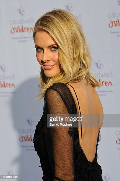 Donna Air attends The Butterfly Ball A Sensory Experience in aid of the Caudwell Children's charity at Battersea Evolution on May 16 2013 in London...