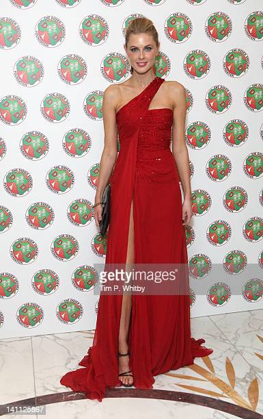 Donna Air attends the Didier Drogba Foundation Charity Ball at Dorchester Hotel on March 10 2012 in London England