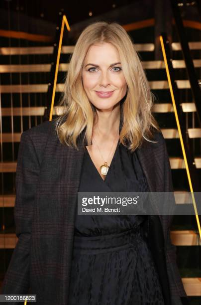 Donna Air attends The Elephant Family Dinner at Gymkhana London on February 11 2020 in London England