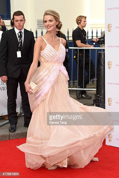 Donna Air attends the House of Fraser British Academy Television Awards at Theatre Royal on May 10 2015 in London England