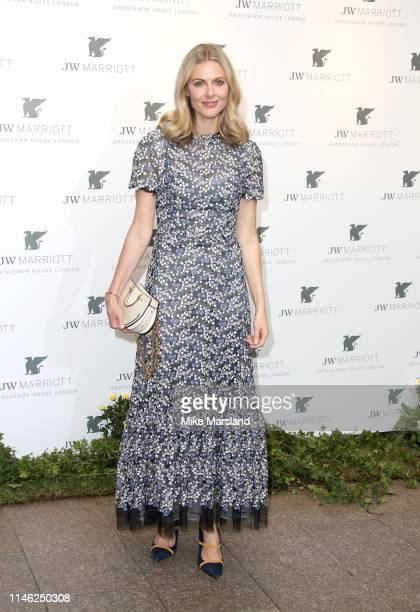Donna Air attends the JW Marriott Grosvenor House London 90th Anniversary at Grosvenor House on April 30, 2019 in London, England.
