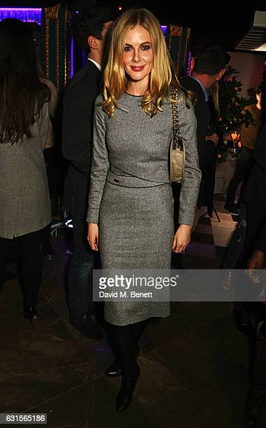 Donna Air attends the launch of Bunga Bunga in Covent Garden on January 12 2017 in London England