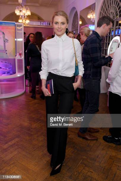 Donna Air attends the launch of Juvederm Beauty Decoded Live, at One Marylebone on March 07, 2019 in London, England.