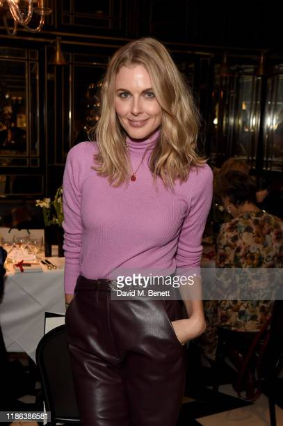 Donna Air attends the launch of the Bicester Village Christmas Experience on November 08 2019 in Bicester England