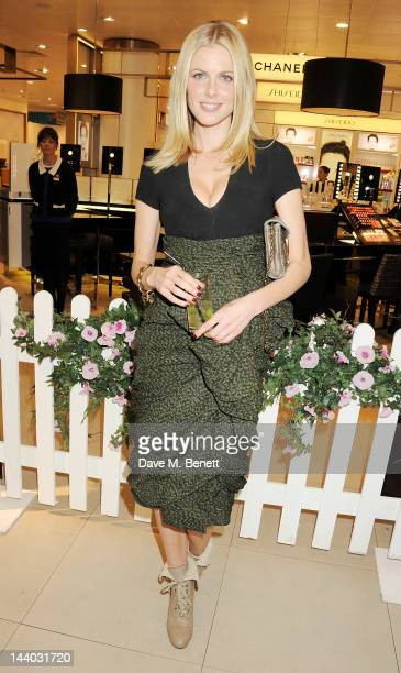 Donna Air attends the launch of the new John Lewis Beauty Hall Oxford Street on May 8 2012 in London England