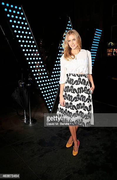 Donna Air attends the launch of W Beijing Chang'an at Wyld on February 19 2015 in London England