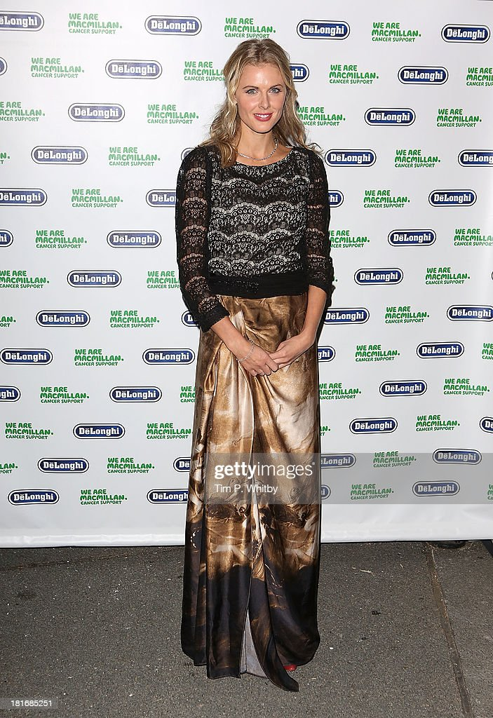 Donna Air attends the Macmillan De'Longhi Art auction 2013 at Royal College of Arts on September 23, 2013 in London, England.