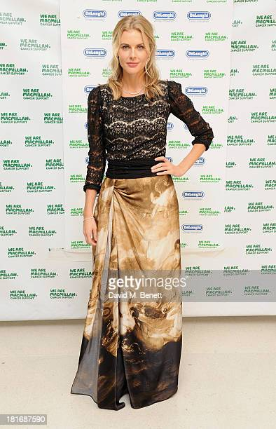 Donna Air attends the Macmillan De'Longhi Art Auction raising money for Macmillan Cancer Support at Royal College of Art on September 23 2013 in...
