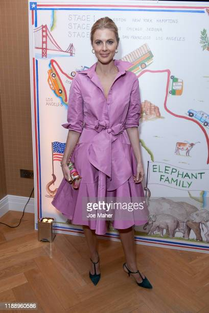 Donna Air attends the Matriarch Club Cocktail Party at Four Seasons Hotel London at Ten Trinity Square on November 20 2019 in London England