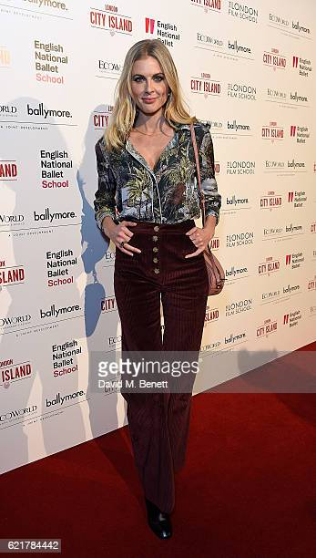 Donna Air attends the opening of London City Island the capital's new cultural neighbourhood on November 8 2016 in London United Kingdom