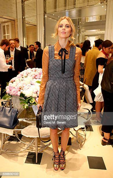 Donna Air attends the opening of the House Of Dior on New Bond Street on June 8 2016 in London England