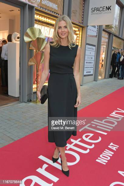 Donna Air attends the premiere party for the launch of award-winning brand Charlotte Tilbury at the Space NK Kings Cross store on September 9, 2019...
