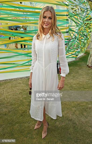 Donna Air attends The Serpentine Gallery summer party at The Serpentine Gallery on July 2 2015 in London England