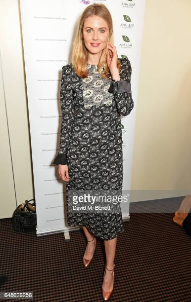 Donna Air attends the 'Turn The Tables' lunch hosted by Tania Bryer and James Landale in aid of Cancer Research UK at BAFTA Piccadilly on March 6...
