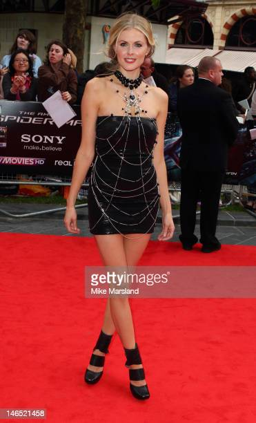 Donna Air attends the UK gala premiere of The Amazing SpiderMan at Odeon Leicester Square on June 18 2012 in London England