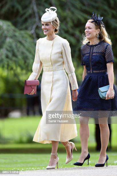 Donna Air attends the wedding of Pippa Middleton and James Matthews at St Mark's Church on May 20 2017 in Englefield Green England