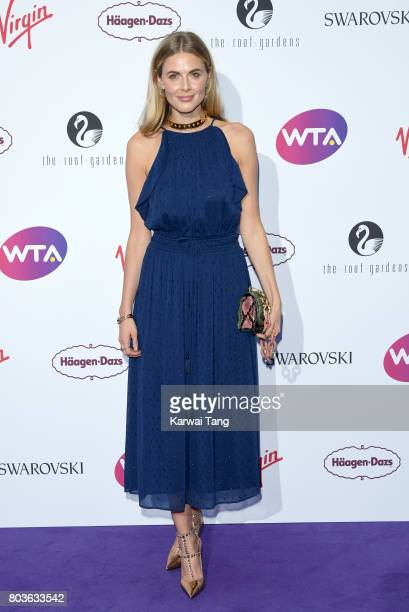 Donna Air attends the WTA Pre-Wimbledon party at Kensington Roof Gardens on June 29, 2017 in London, England.