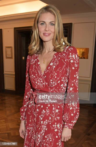 Donna Air attends Turn The Tables 2020 hosted by Tania Bryer and James Landale in aid of Cancer Research UK at Fortnum & Mason on March 2, 2020 in...